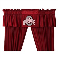 "NCAA 88"" Ohio State Buckeyes Curtain Valance"