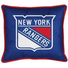 NHL New York Rangers Throw Pillow
