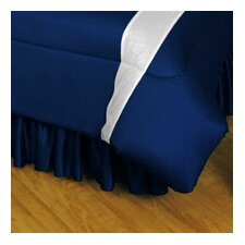 NHL Toronto Maple Leafs Polyester Jersey Bed Skirt