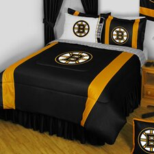 NHL Boston Bruins Sidelines Comforter