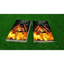 Firefighter Cornhole Boards  Cornhole Game Set