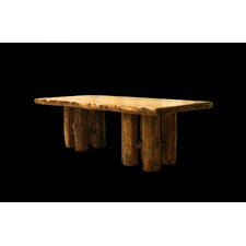 Aspen Stump Base Dining Table