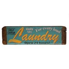 Wood Sign 'Laundry' Wall Decor