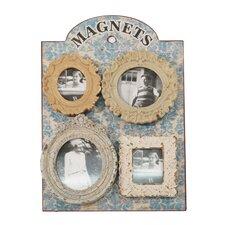 Wood Frame Magnet Wall Art