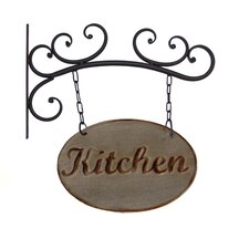Metal Kitchen Sign Wall Decor
