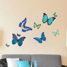 Natural Butterflies Wall Decal