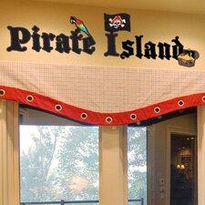 Pirate Island Wall Decal