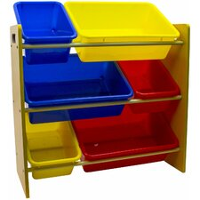 Space Saving Kid's Toy Storage Organizer