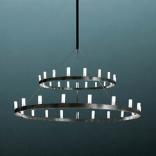 Chandelier Two Tier Hanging Lamp
