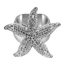 Large Starfish Napkin Ring (Set of 4)