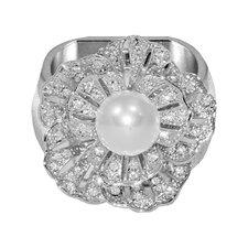 Single Pearl Napkin Ring (Set of 4)