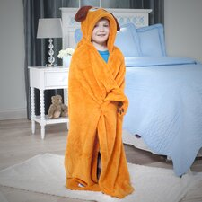 Bright Eyes Puppy Deluxe Kids Hooded Towel