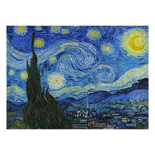 The Starry Night by Van Gogh Painting Print