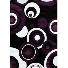 Modern Purple Area Rug