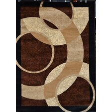 Modern Brown Area Rug
