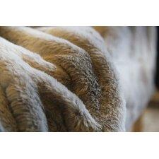 Rabbit Microfleece Throw Blanket