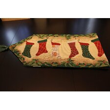 Stockings Table Runner