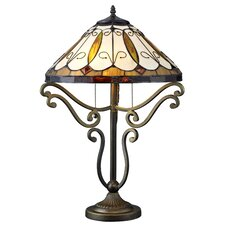 """Serena d'italia 24"""" H Table Lamp with Empire Shade"""