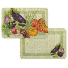 Vegetable De Jour Reversible Place Mat