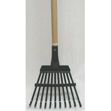 Superflex Shrub Rake in Black