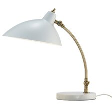 "Peggy 18"" H Desk Lamp with Bowl Shade"
