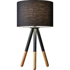 "Louise 21.5"" H Table Lamp with Drum Shade"