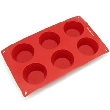 6 Cavity Silicone Mold Pan