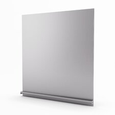 "Genesis Real 20"" x 29.938"" Metal Tile in Stainless Steel"