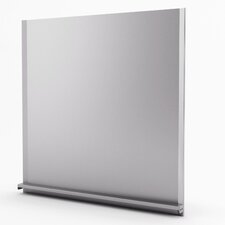 "Alpha Real 29.938"" x 30"" Metal Tile in Stainless Steel"