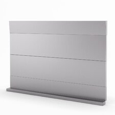 "Urbania Real 19"" x 29.94"" Metal Tile in Stainless Steel"
