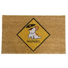 Beware of Dog Funny Welcome Doormat