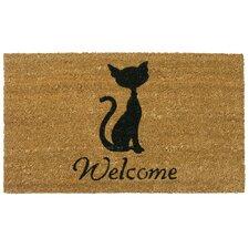 Meow Cat Welcome Doormat