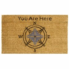 Lost? You Are Here Doormat