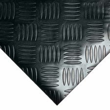 """""""Diamond-Grip"""" 168"""" Resilient Flooring Mat Roll"""