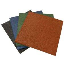 """Eco-Sport"" Interlocking Flooring Rubber Tile (Set of 3)"