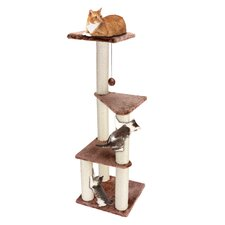 "46"" 3 Story Lookout Cat Tree"