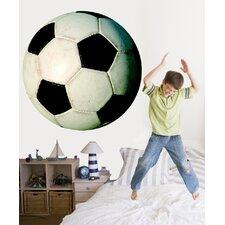 Soccer Ball II Cutout Wall Decal