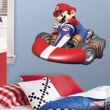 Super Mario Mario Kart Wii Room Makeover Wall Decal