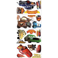"Disney ""Cars"" Piston Cup Champs Cutout Wall Decal"