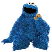 Sesame Street Cookie Monster Cutout Wall Decal