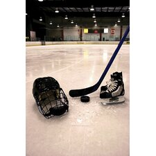 Hockey Equipment II Wall Mural