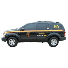 Police K9 Unit Cutout Wall Decal