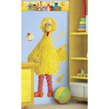 Sesame Street Big Bird Room Makeover Wall Decal
