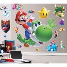 Super Mario Galaxy 2 Room Makeover Wall Decal