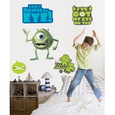 Disney Monsters Inc. Mike, Sulley and Boo Giant Wall Decal