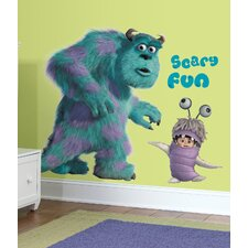 Disney Monsters Inc. Sulley and Boo Giant Wall Decal