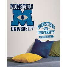 Disney Monsters University Movie Logo Wall Decal
