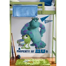 Disney Monsters University Movie Mike and Sulley Wall Decal