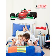 Disney Cars 2 Francesco Cutout Wall Decal