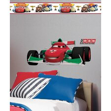 Disney Cars 2 Francesco Room Makeover Wall Decal